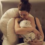 Hypnobirth Australia mum with baby